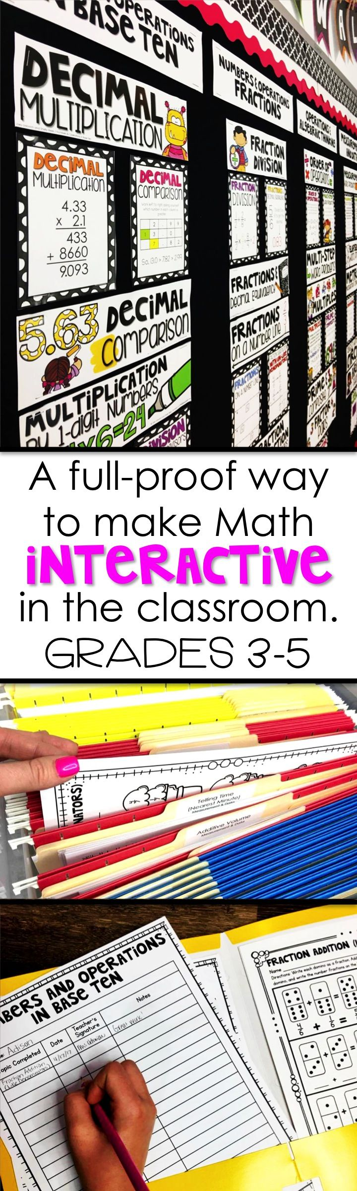 68 best teacher stuff images on pinterest multiplying fractions an incredible method for making math a hands free teacher free and fandeluxe Images