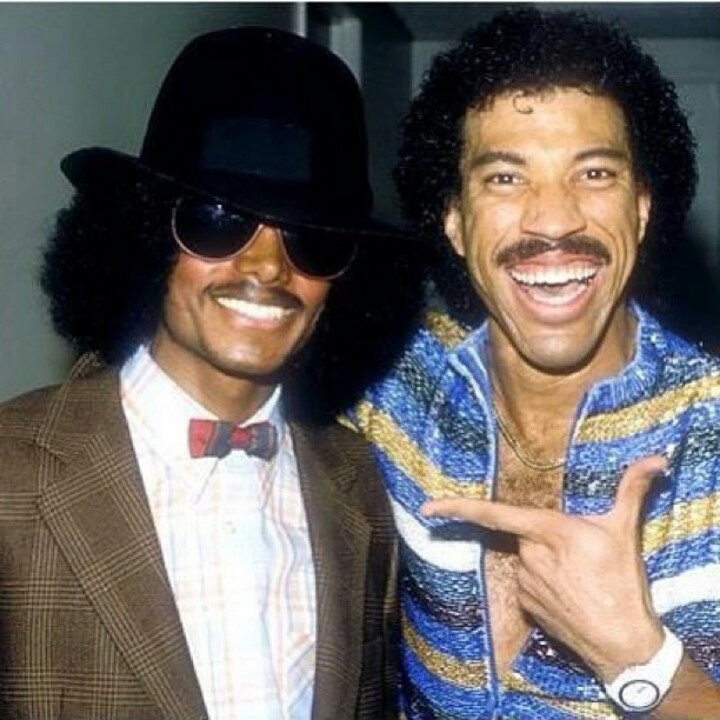 MJ and Lionel Richie