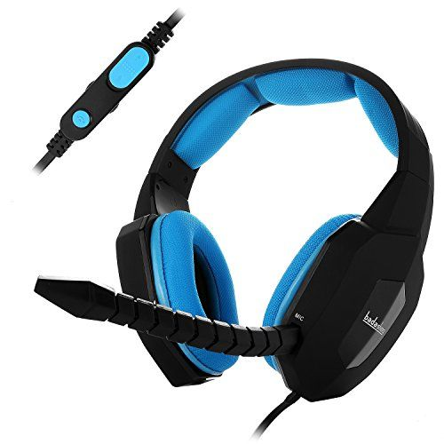 EasySMX ESM939P Plus Wired Gaming Headset for PS4 Compatible with PC Mobile Tablet Closed-back Earcups Detachable Microphone In-line Volume Control (Black and Blue) - Notes • To ensure its normal function, please complete the following setting on PS4 and XBOX ONE: PS4: Settings- Devices-Audio Devices-Output to Headphones-Chat Audio-All Audio XBOX ONE: Setting-Display &Sound - Chat Mixer-Do Nothing • The in-line volume controller only controls gaming ...