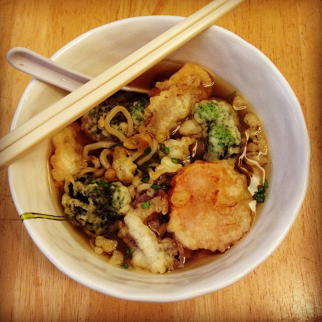Tempura Udon Noodle Soup by joyosity, via Flickr