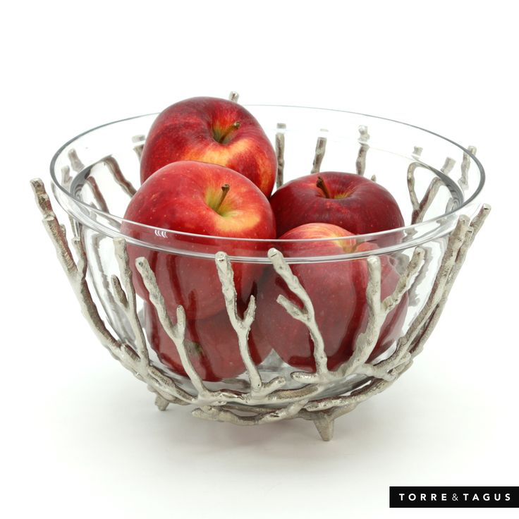 Make nature a part of your fall home décor with our metal Twig & Glass Bowl. A perfect designer element to highlight the season. #TorreAndTagus #HomeDecor #falldecor #GlassBowl www.torretagus.com