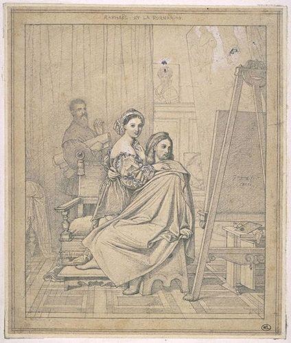 Raphaël et la Fornarina