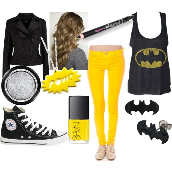 superhero polyvore | fashion look from July 2012 featuring Oasis jackets, Flying Monkey ...