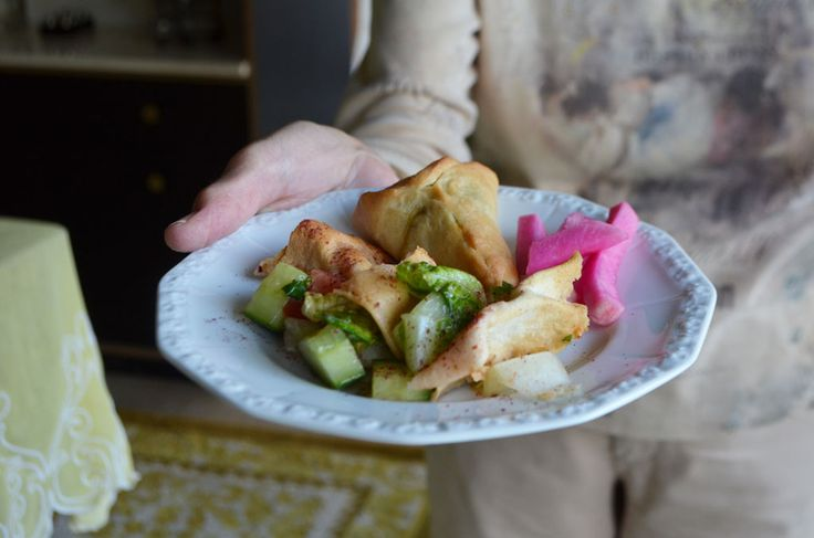 Fattoush salad, and poetry, in motion | Maureen Abood