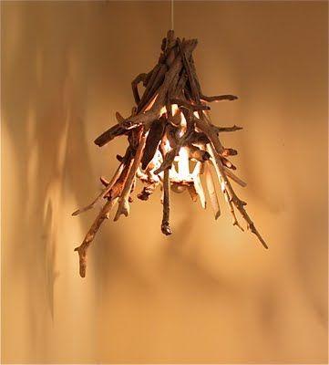 Folk: Driftwood Chandelier