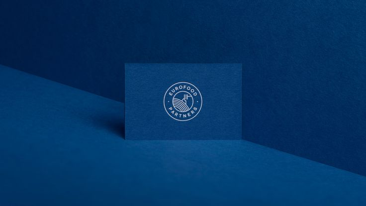 Eurofood Partners foil stamp business cards