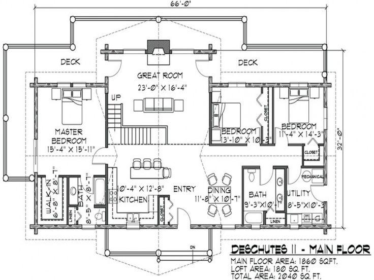 17 best ideas about Log Cabin Floor Plans on Pinterest Log cabin