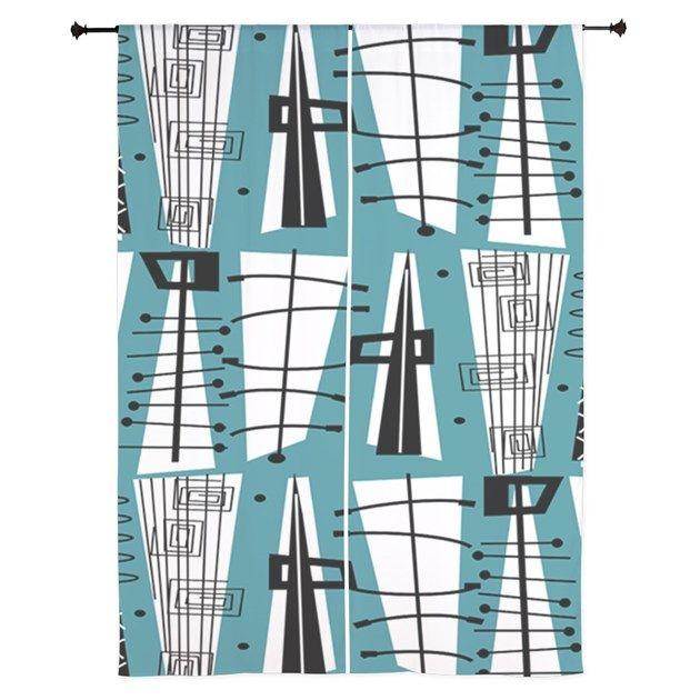 Attractive Mid Century Modern Shower Curtain Part   12: Best 25+ Midcentury  Shower Curtains