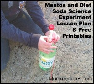 mentos and coke science experiment hypothesis