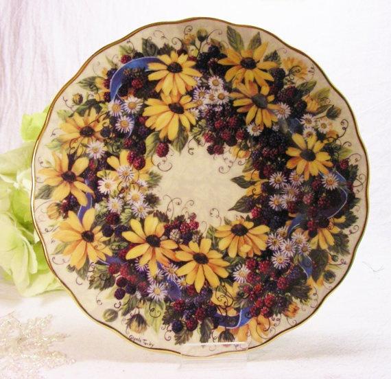 Collector Plate  Bradford Exchange  Amethyst by MoreThanTreasures,