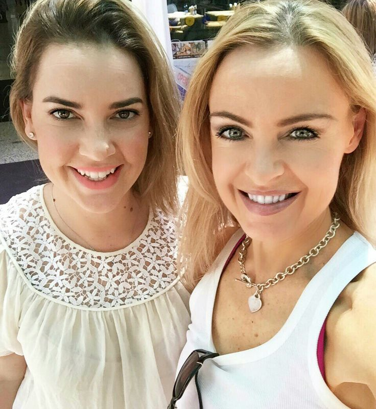 Lunching with the gorgeous @KDInsiredlife www.kyliepax.com/bootcamp
