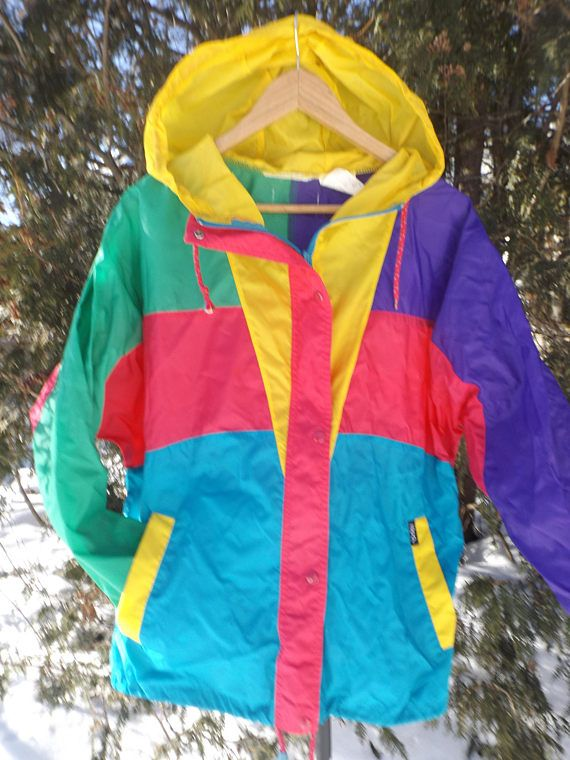 Ispo Windbreaker Colorblock Vintage Windbreaker 90s Ispos