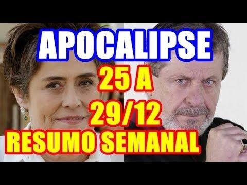 Novela 'Apocalipse' (Resumo Semanal do dia 25 a 29/12) Stéfano esconde s...