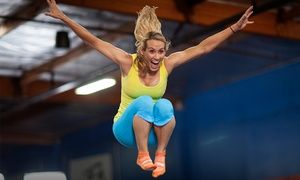 Groupon - Two 90-Minute Jump Passes or Party Package for Up to Ten People at Sky Zone - Anaheim (Up to 45% Off)  in Anaheim. Groupon deal price: $30
