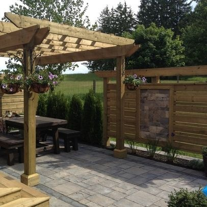 Best Privacy Screen Images On Pinterest Privacy Screens - Backyard screening ideas
