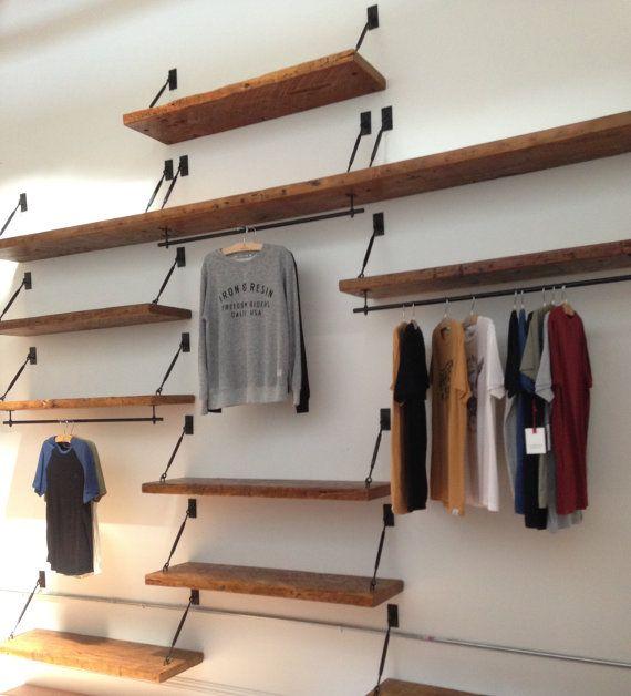 Set of 2 Turnbuckle Shelf Brackets for Floating door SilicateStudio