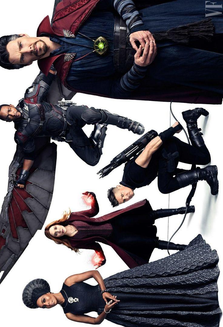 The Avengers - Vanity Fair