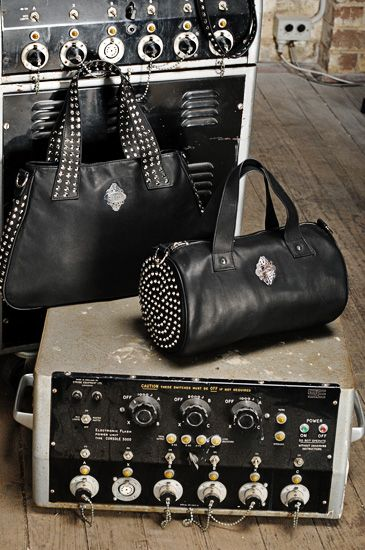Sydney handbag and accessories studio photography for a biker fashion inspired…