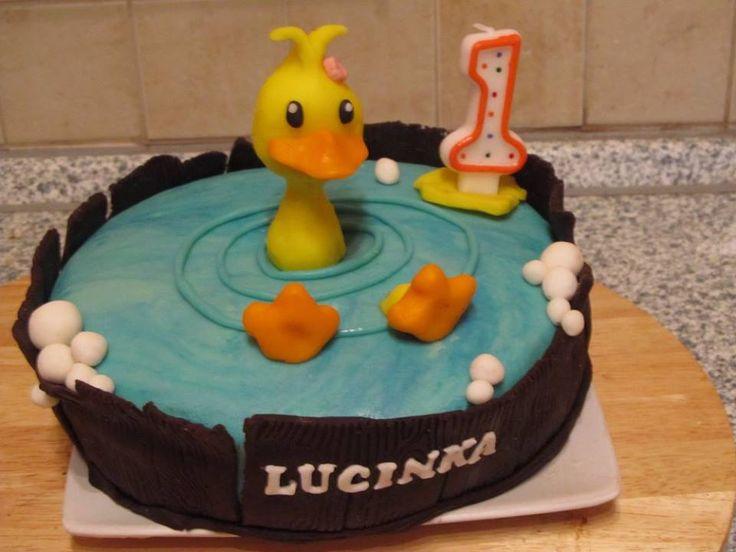 dort kačenka, cake duck