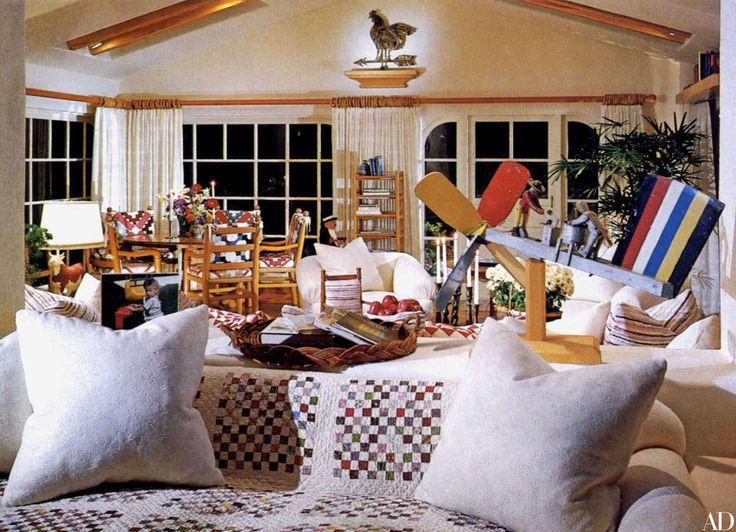Look Inside Steven Spielberg's Pacific Palisades Mediterranean Home Photos | Architectural Digest