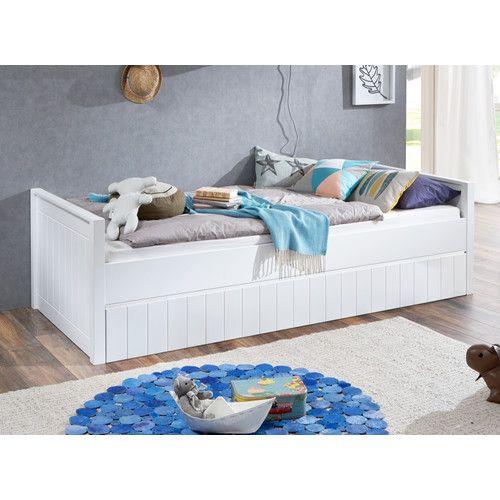 Gefunden bei Wayfair.de - Einzelbett Luka mit Bettkasten, 90 x 200 cm