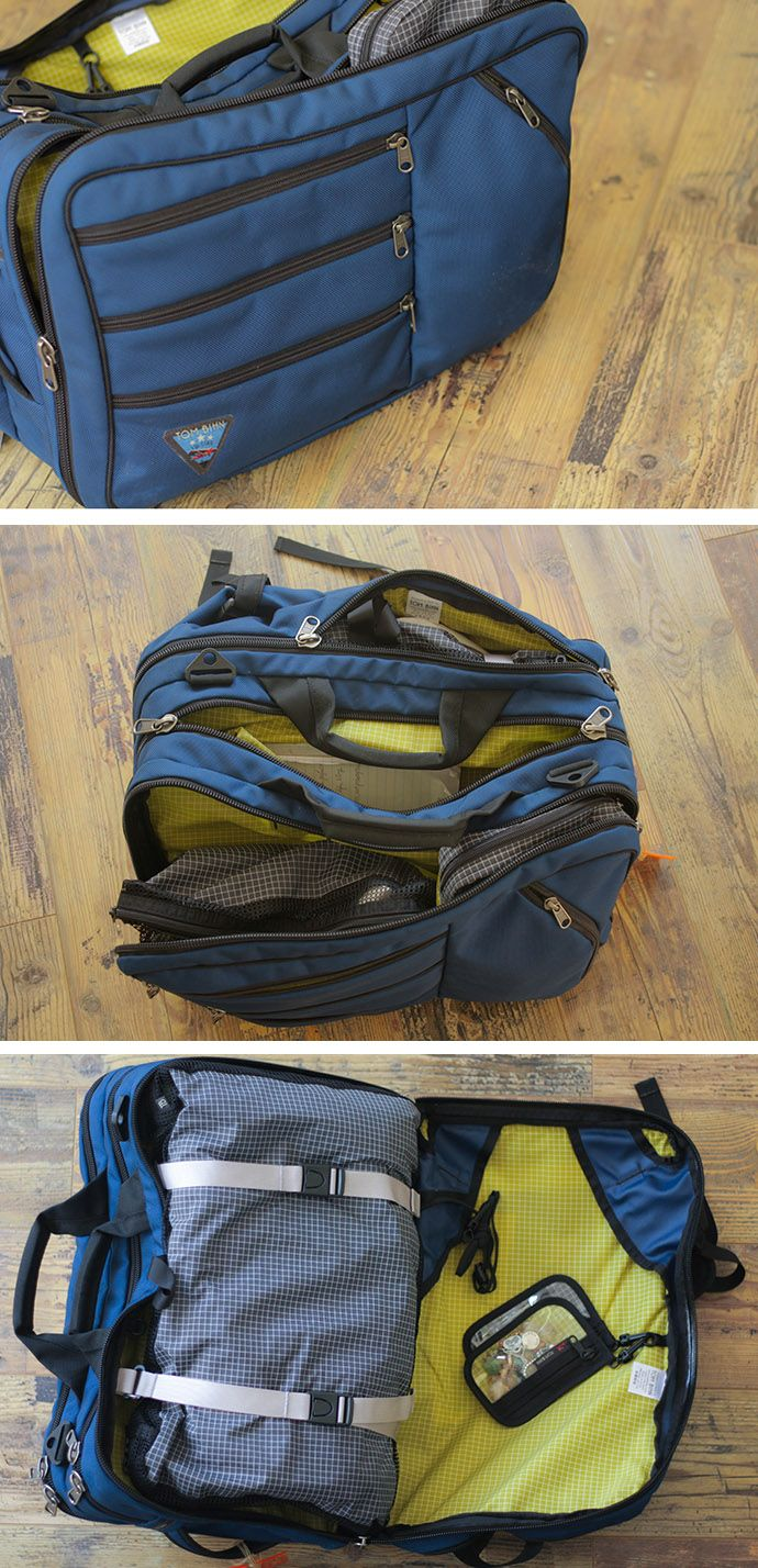 My favorite travel bag along with tips for packing light for Minimalismus liste