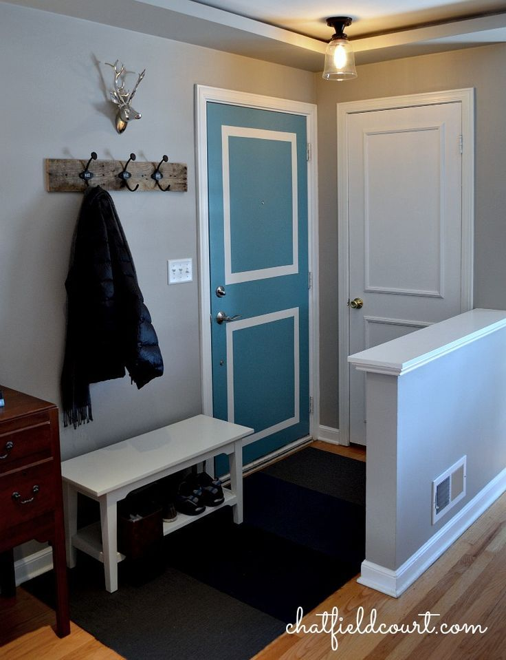 Make The Most Of A Small Entryway - CHATFIELD COURT