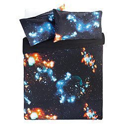 great for making a dress -Outer Space Double Duvet Set