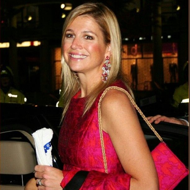 Queen maxima in new york at thebfour freedom