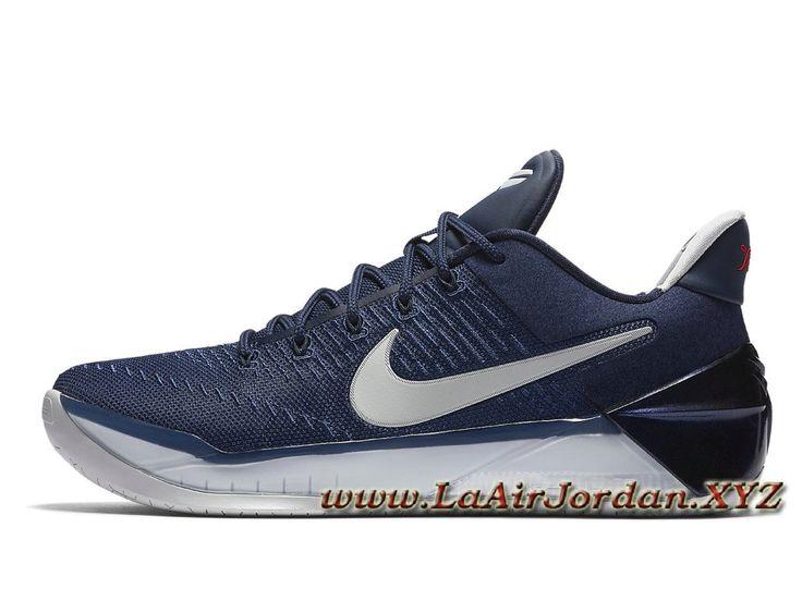 Nike Kobe A.D Midnight Navy 852425_406 Chaussures Nike pas cher Pour HOmme Bleu