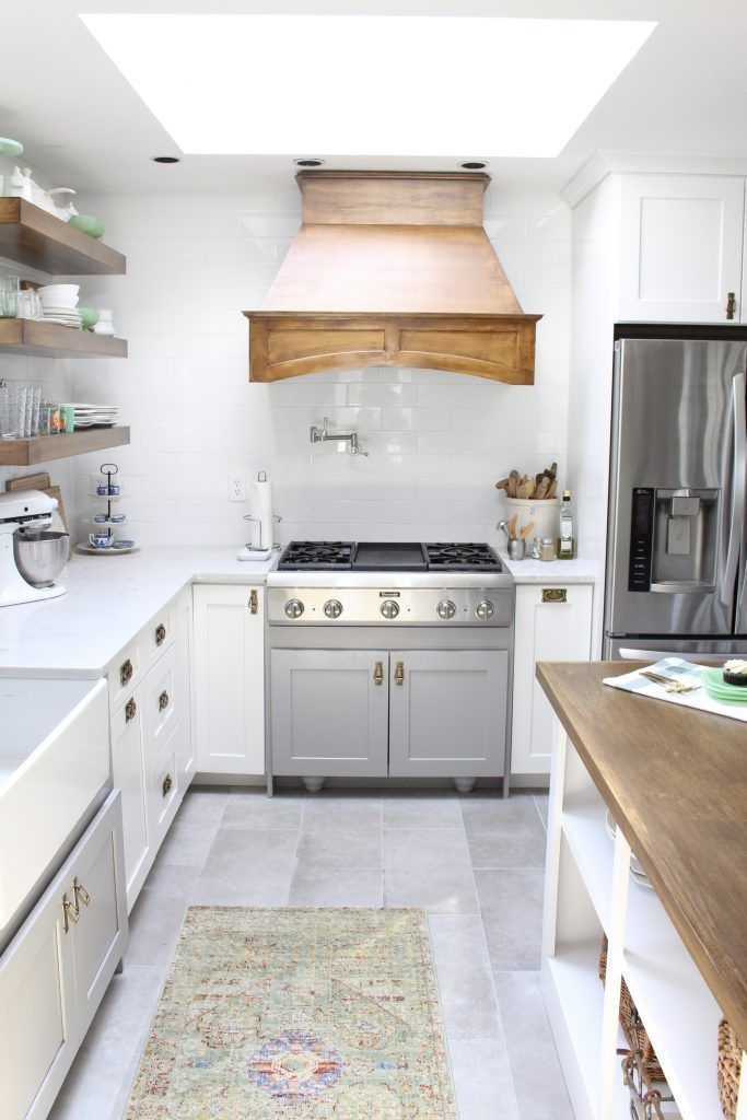 White- Cottage Kitchen- Renovation- Reveal- kitchen design- kitchen ...