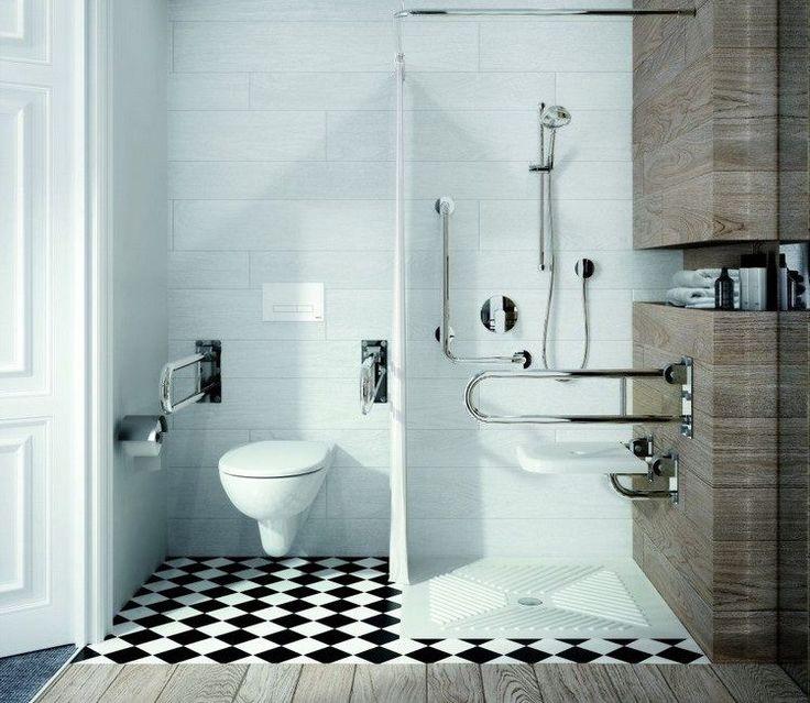 die besten 25 barrierefrei ideen auf pinterest barrierefreie duschen dusche fenster und. Black Bedroom Furniture Sets. Home Design Ideas
