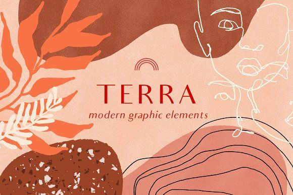 Modern Graphic Elements by ffforn studio store on …