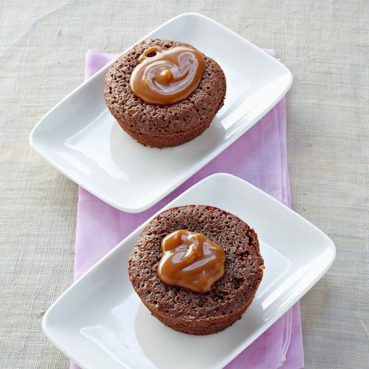 Découvrez la recette Fondant au chocolat individuel sur cuisineactuelle.fr.