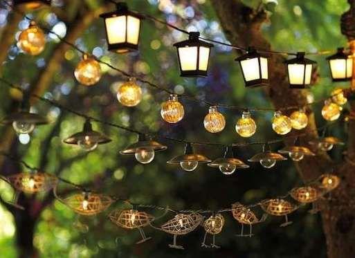 terrace lighting ideas 28 - Outdoor Home Decor Ideas