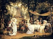The Garden Party  by Karl Schweninger, Jr.