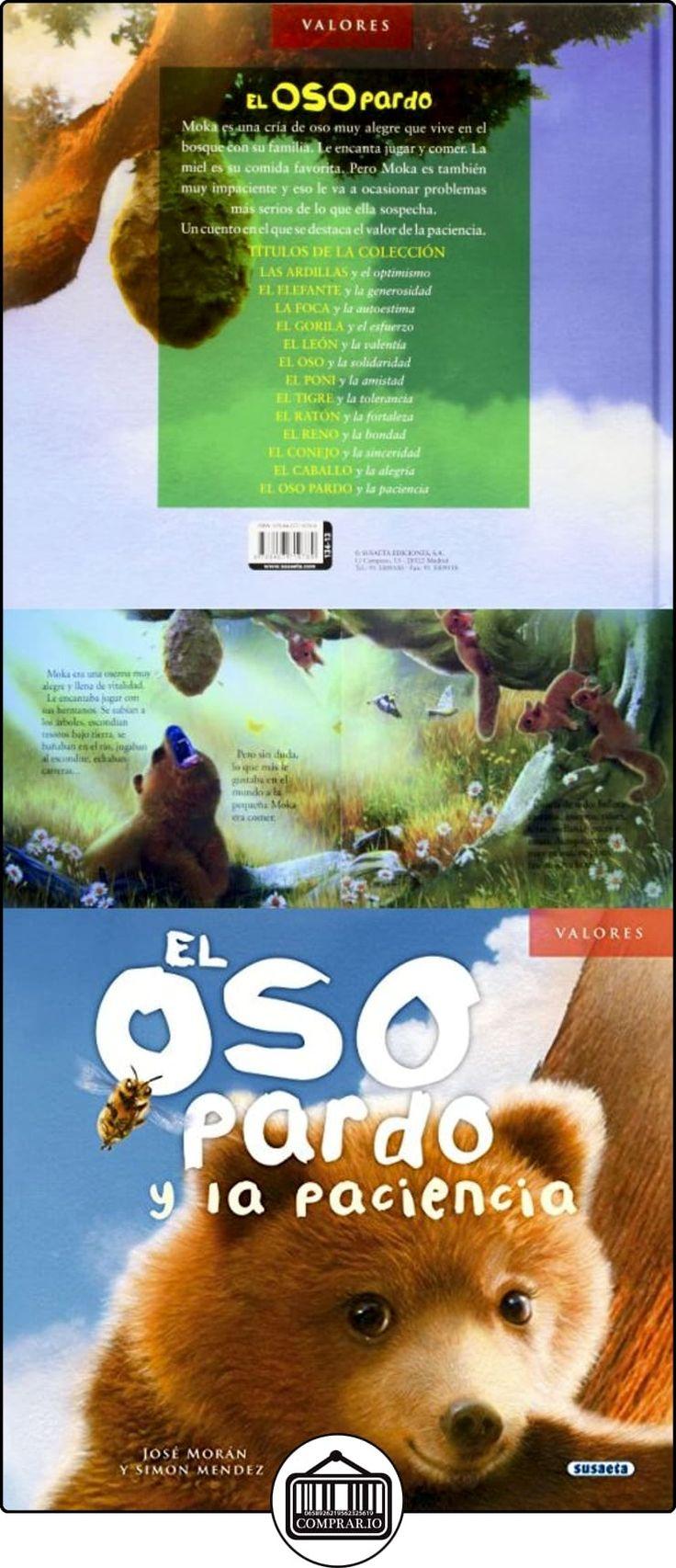 El Oso Pardo Y La Paciencia (Valores) José Morán ✿ Libros infantiles y juveniles - (De 6 a 9 años) ✿