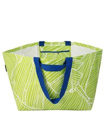 Tote Bag - Oversize lime banana leaf
