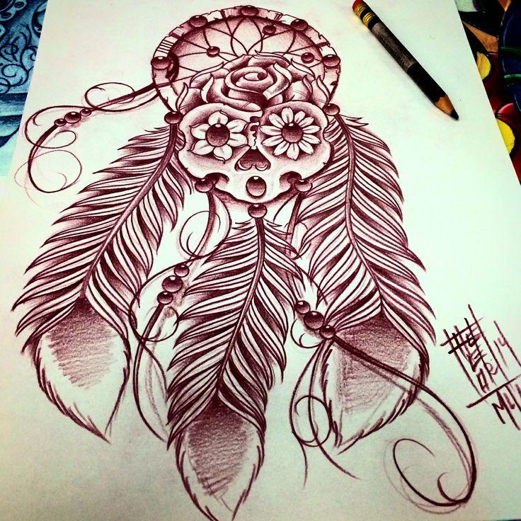 Asian Dragon Tattoo Sketch By Marinaalex On Deviantart: Sketches, Dream Catcher
