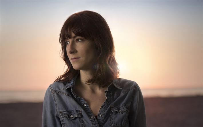 Download wallpapers Emily Mure, 4k, singer, neofolk, beauty, beautiful woman