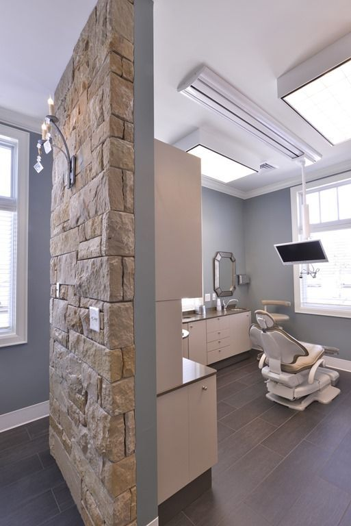 Dental office operatories-i like these colors for a bright treatment area