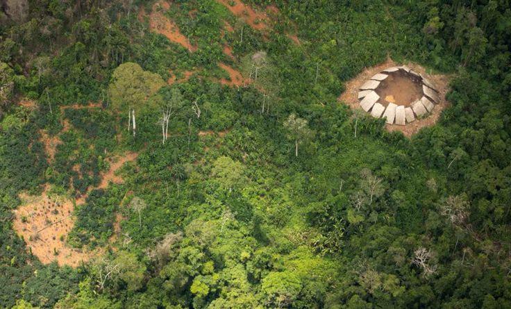 Nuevas fotografías de la tribu del Amazonas que no ha tenido nunca contacto con la civilización