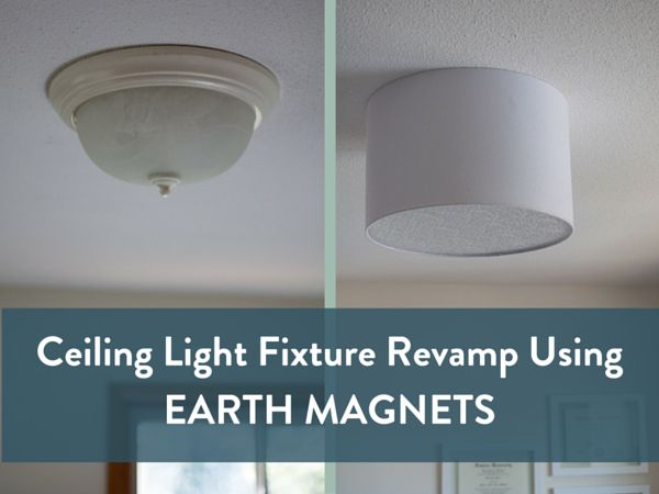 Upgrade a ceiling light with a drum shade for under 15 drum shade upgrade a ceiling light with a drum shade for under 15 drum shade drums and flush ceiling lights mozeypictures Images