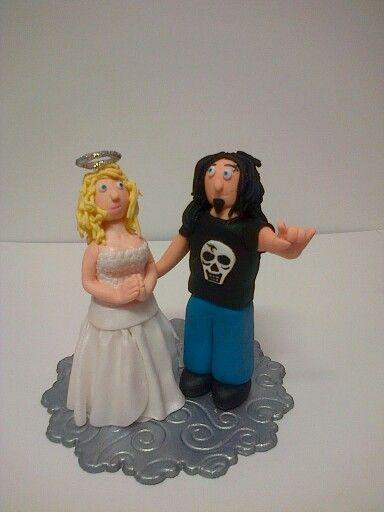 Rock bruidspaar