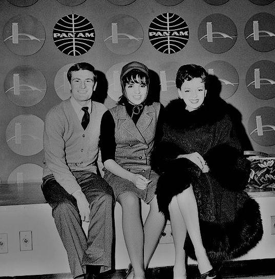 It's Judy! with Liza Minnelli & her boyfriend, Peter Allen.