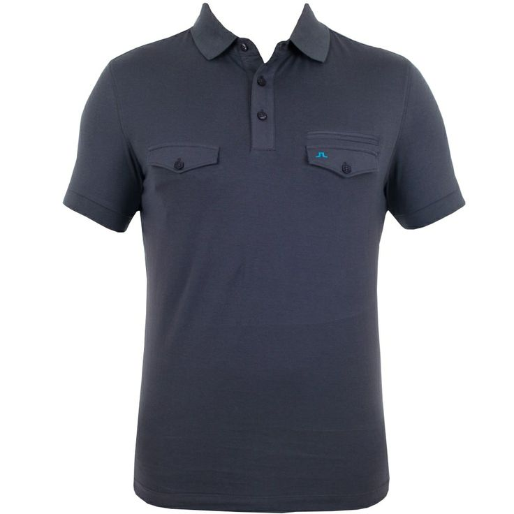 J Lindeberg Aiden Lux Jersey Dark Grey #golf #fashion #trendygolf #jlindeberg
