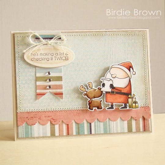 Birdie Brown: Happy Santa