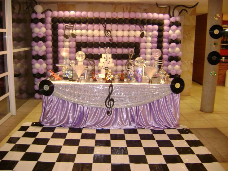 Music themed party