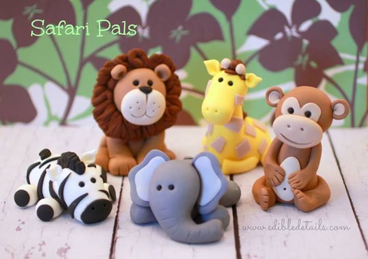 adorable fondant animals