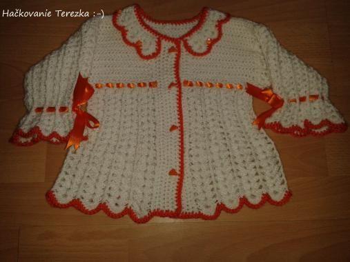 Sviatočny svetrik by hackovanie-Terezka - SAShE.sk - Handmade Detské oblečenie